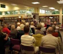 Pauline Rowson talking about her crime novels Bognor Regis Library 20 May 2014
