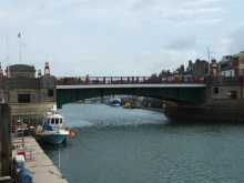The lifting bridge, Weymouth