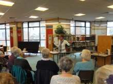 Weymouth Library Pauline Rowson talking about how she writes her crime novels