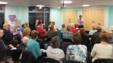 Pauline Rowson talking about crime writing and her crime novels-Yate Library