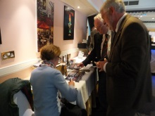 Pauline Rowson book signing Ferndown Probus May 2015