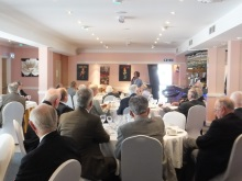 Pauline Rowson guest speaker, talking about her crime novels to Ferndown Probus