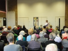 Hammersmith and Fulham U3A Pauline Rowson talking about her Solent based crime novels - March 2015