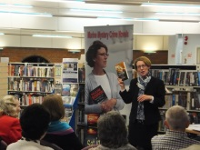 Pauline Rowson at Portchester Libary