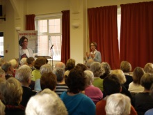 Ems Valley U3A Pauline Rowson thrills audience with crime writing