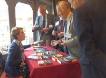 Poole Probus, Pauline Rowson talking to members and book signing
