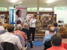 Pauline Rowson at Stubbington Library