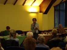 Castle View WI crime author Pauline Rowson talking about how she writes her crime novels