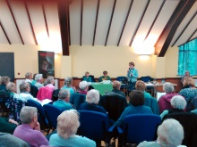 Castle View WI Pauline Rowson talking about her crime novels and her characters