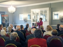 Christchurch Probus - Pauline Rowson talking about her crime novels