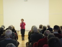 A taste for murder at Lyndhurst U3A with Pauline Rowson
