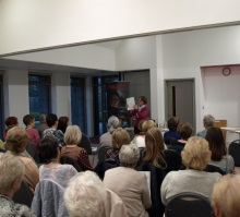 Portchester WI, Pauline Rowson on how she writes her crime novels