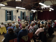 Stake WI enraptured audience as Pauline Rowson talks about her crime novels