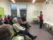 Waterlooville Library- Pauline Rowson talking about her crime busting heroes