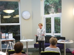 Christchurch Library - Pauline Rowson talking about crime writing