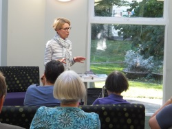 Christchurch Library - Pauline Rowson talking about her crime novels