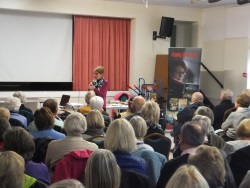 Eastleigh U3A Pauline Rowson how she creates her crime novels