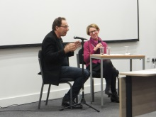 Peter James and Pauline Rowson