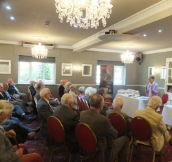 Lymington Pauline Rowson entertains Probus Club members