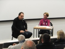 Peter James with Pauline Rowson talking about his crime novels