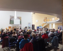 Hamble Valley U3A an enraptured audience for Pauline Rowson