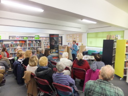 Lockswood Library Pauline Rowson talking about her crime novels