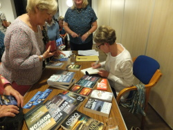 Pauline Rowson book signing at Westbourne WI
