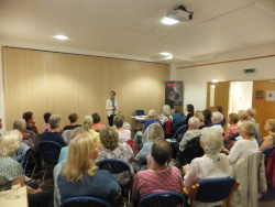 Westbourne WI Pauline Rowson talking about her crime novels