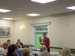 Woodlands WI Pauline Rowson talking about her crime novels