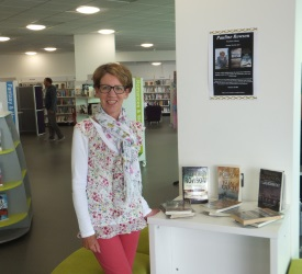 Pauline Rowson at Woolston Library