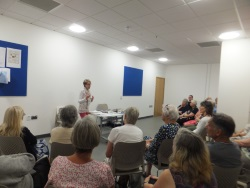 Woolston Library Pauline Rowson talking about her crime novels