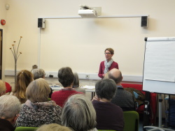 Pauline Rowson at Hythe Library