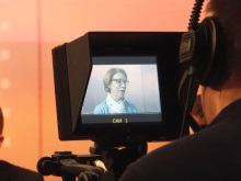Pauline Rowson on Camera That's Solent TV April 2016