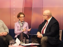 Pauline Rowson talking to Chris Rider That's Solent TV 3 February 2016